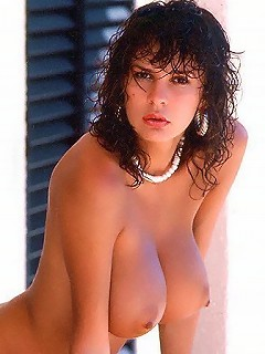 Delicious busty hottie from our archieve of the 90s