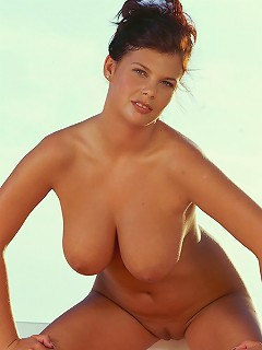 Stunning hot pretty amateur model with beautiful big soft mammaries exposes everything